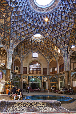 The Bazaar, Kashan city, Isfahan Province, Iran, Middle East