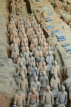 Lintong site, Army of Terracotta Warriors, UNESCO World Heritage Site, Xian, Shaanxi Province, China, Asia - 712-2954