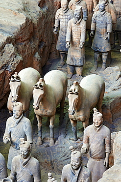 Lintong site, Army of Terracotta Warriors, UNESCO World Heritage Site, Xian, Shaanxi Province, China, Asia - 712-2957