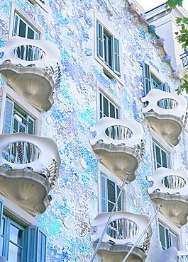 Casa Batllo, Barcelona, Catalonia, Spain, Europe