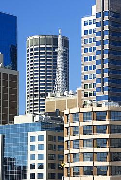 Sydney skyline, Darling Harbour, Sydney, New South Wales, Australia, Pacific