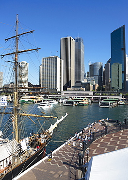 Circular Quay and Business Financial District, Sydney, New South Wales, Australia, Pacific