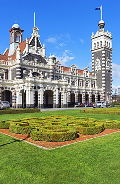 Dunedin Railway Station, Dunedin, Otago, South Island, New Zealand, Pacific