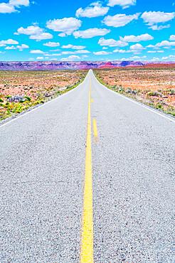 Highway, Utah, USA,