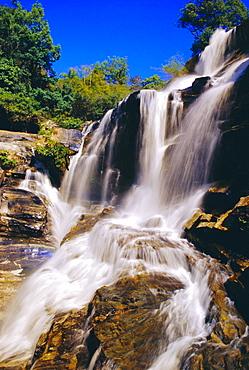 Mae Klang Waterfall, Doi Inthanon National Park, Chiang Mai Province, Thailand
