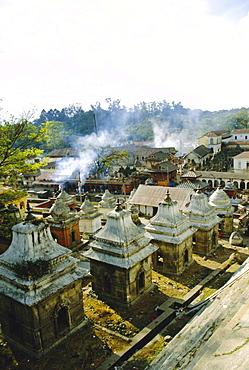Hindu temples at Pashupatinath, Katmandu, Nepal