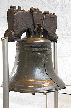On July 8 1776, the Liberty Bell rang out from the tower of Independence Hall summoning citizens to hear the first public reading of the Declaration of Independence by colonel John Nixon, Philadelphia, Pennsylvania, United States of America, North America