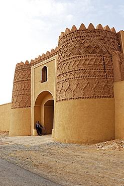 Shafi Abad caravanserai, Kerman Province, Iran, Middle East