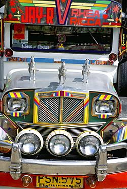Jeepney, Manila, island of Luzon, Philippines, Southeast Asia, Asia