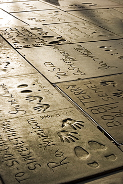 Manns Chinese theatre, Hollywood, California, United States of America, North America