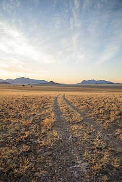 Little used track through the Namib Desert, Namibia, Africa