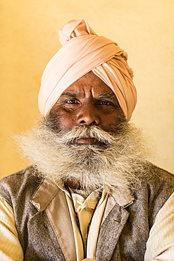 Man with beard, Mumbai, India, Asia