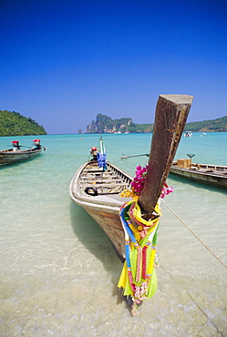 Long tail boat, Phi Phi Islands, Thailand