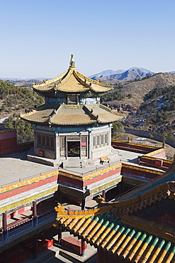Putuo Zongcheng Tibetan outer temple dating from 1767, Chengde city, UNESCO World Heritage Site, Hebei Province, China, Asia