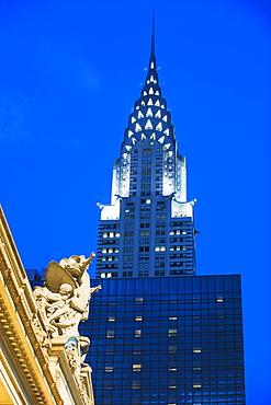 Chrysler Building at Grand Central Station, Manhattan, New York City, New York, United States of America, North America
