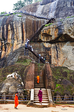 Sigiriya, UNESCO World Heritage Site, North Central Province, Sri Lanka, Asia