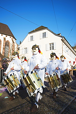 Fasnact spring carnival parade, Basel, Switzerland, Europe