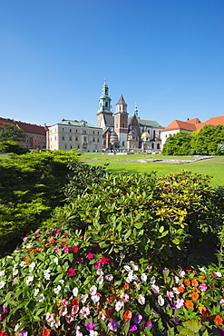 Wawel Hill Castle and Cathedral, UNESCO World Heritage Site, Krakow, Malopolska, Poland, Europe