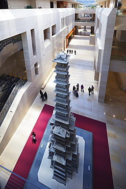 Goryeo dynasty Ten Storey Pagoda in marble, National Museum of Korea, Seoul, South Korea, Asia