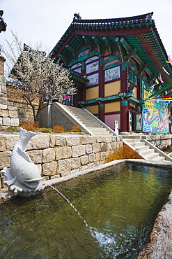 Heian Buddhist temple, UNESCO World Heritage Site, Heiansa, Gayasan National Park, South Korea, Asia