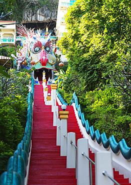 Wat Ban Tham (The Dragon temple), Kanchanaburi, Thailand, Southeast Asia, Asia