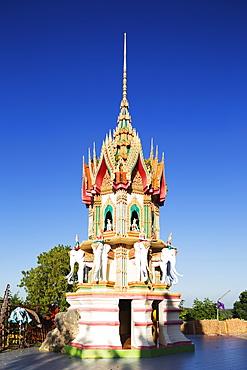 Wat Tham Sua temple, Kanchanaburi, Thailand, Southeast Asia, Asia