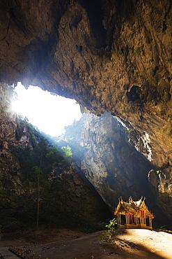 Royal pavilion, Tham Phraya Nakhon Cave, Khao San Roi Yot National Park, Prachuap Kiri Khan, Thailand, Southeast Asia, Asia