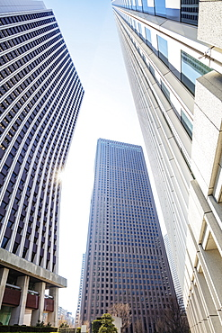 Shinjuku skyscrapers, Tokyo, Japan, Asia