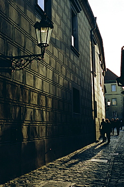 Golden Lane (Zlata ulicka), Prague Castle, Hradcany, Prague, Czech Republic, Europe
