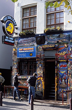 Exterior of the Bulldog Coffee Shop, Amsterdam, The Netherlands (Holland), Europe