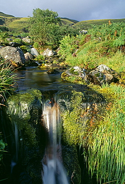 Mountain stream, Inverpolly, Highland region, Scotland, United Kingdom, Europe