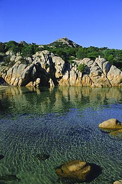 Rocky coast, Porto Cervo, Sardinia, Italy, Mediterranean, Italy