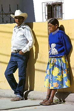 Tarahumara couple, Mexico, North America