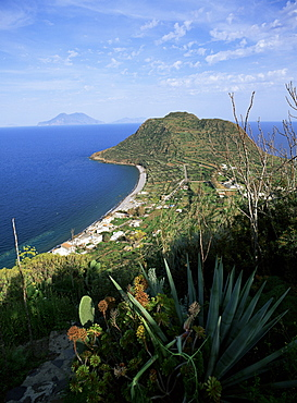 Island of Filicudi, Aeolian Islands (Eolian Islands) (Lipari Islands), UNESCO World Heritage Site, Italy, Europe