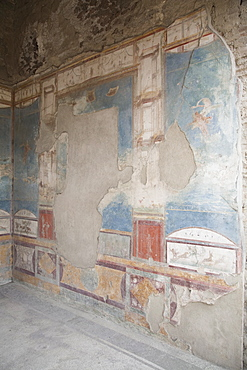 The House of the Ancient Hunt, Pompeii, UNESCO World Heritage Site, Campania, Italy, Europe