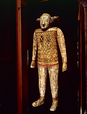 Jade funeral suit, Western Han Dynasty, late 2nd century B.C., China, Asia - 74-116
