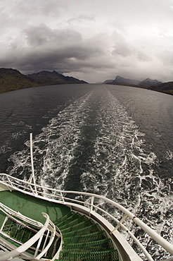 Antarctic Dream, Beagle Channel, Tierra del Fuego, Patagonia, Chile, South America