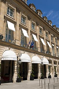 Hotel Ritz, Place Vendome, Paris, France, Europe