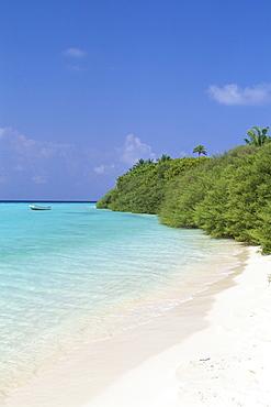 Asdu Island, North Male Atoll, Maldives, Indian Ocean, Asia