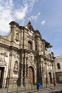 La Compania de Jesus Church, UNESCO World Heritage Site, Quito, Ecuador, South America