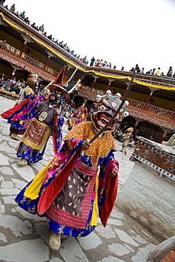 Hemis Festival, Lama dancing, Ladakh, India, Asia