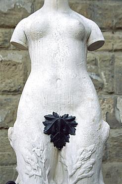 Modesty', Florence, Tuscany, Italy, Europe