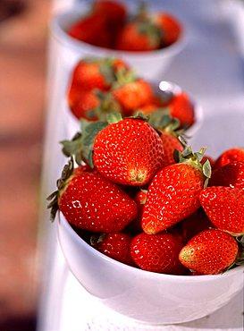 Strawberries, Italy
