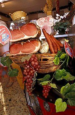 Cappelletti old butcher's shop, Folgaria, Trentino Alto-Adige, Italy