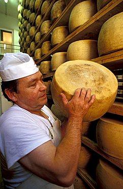 Lavarone dairy, Trentino Alto-Adige, Italy