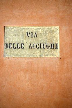 Via delle Acciughe, La Venezia, Livorno, Tuscany, Italy