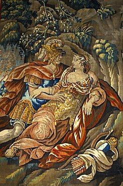 Tapestry, Piersanti museum, Matelica, Marche, Italy