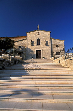 Church of Cappuccini friary, Sant'Elia a Pianisi, Molise, Italy.