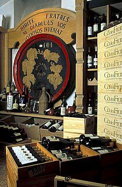 Il Borgo restaurant and cellar, Rovereto, Trentino, Italy