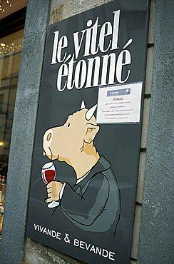 Le Vitel Etonné restaurant, Turin, Piedmont, Italy